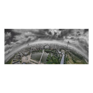 Cologne Panorama - 360 degrees! Poster