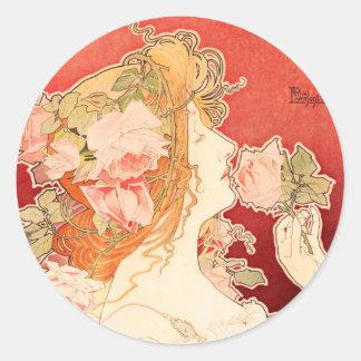 Cologne Parfumerie Classic Round Sticker