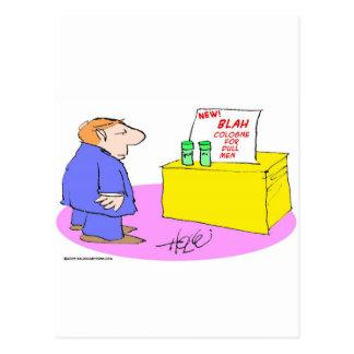 cologne soso para los hombres embotados postal