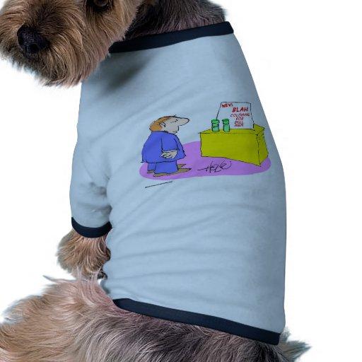 cologne soso para los hombres embotados camiseta con mangas para perro