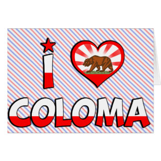 Coloma, CA Greeting Cards