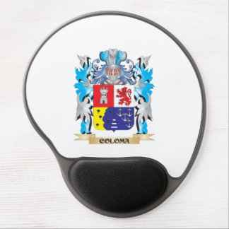 Coloma Coat of Arms - Family Crest Gel Mouse Pad