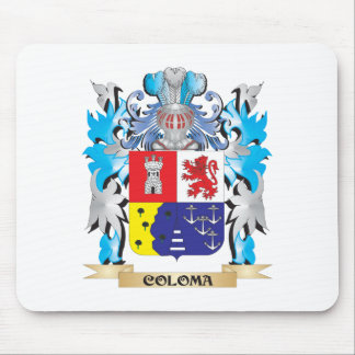 Coloma Coat of Arms - Family Crest Mouse Pad