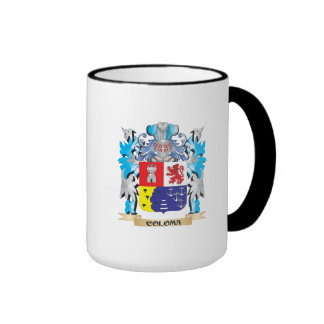 Coloma Coat of Arms - Family Crest Ringer Coffee Mug