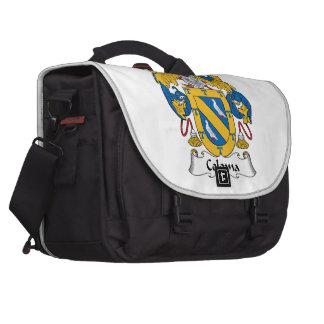 Coloma Family Crest Laptop Messenger Bag