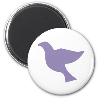 Colombe Lilas Magnet