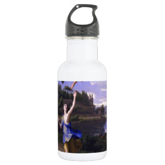 Colombel Cupid and Psyche painting love peace  joy Water Bottle