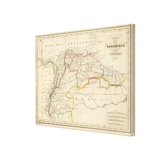 Colombia 3 canvas print