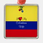 Colombia: Amo a mi esposa colombiana Ornato