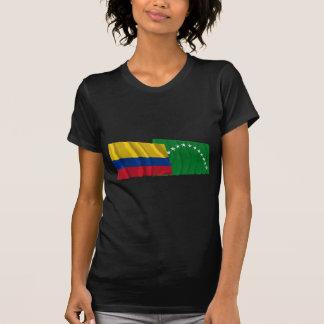 Colombia and Risaralda Waving Flags Shirt