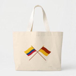 Colombia and Tolima Crossed Flags Bag