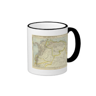 Colombia and Venezuela Ringer Mug