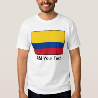 Colombia - bandera colombiana poleras