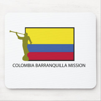 Colombia Barranquilla Mission LDS CTR Mouse Pad