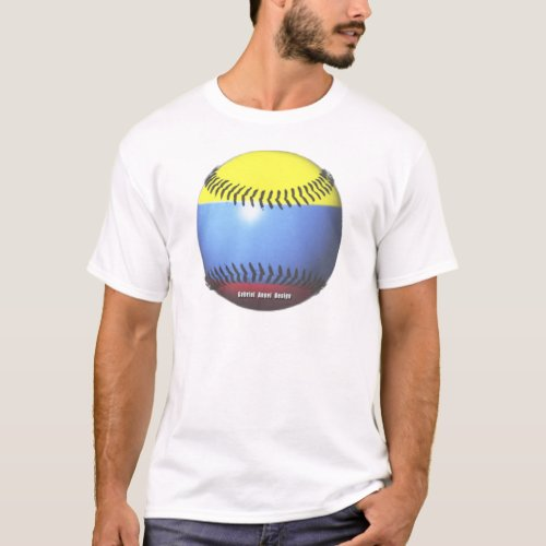 Colombia Baseball T_Shirt