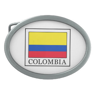 Colombia Belt Buckle