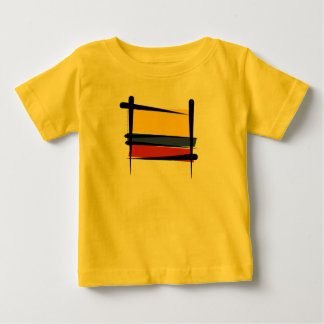 Colombia Brush Flag Baby T-Shirt