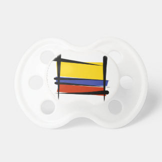Colombia Brush Flag Pacifier