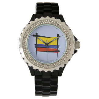 Colombia Brush Flag Watch
