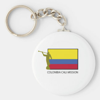 Colombia Cali Mission LDS CTR Keychain