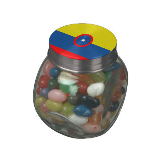 Colombia Jelly Belly Candy Jar