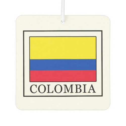 Colombia Car Air Freshener