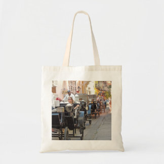 Colombia-Carriage Ride in Cartagena Tote Bag
