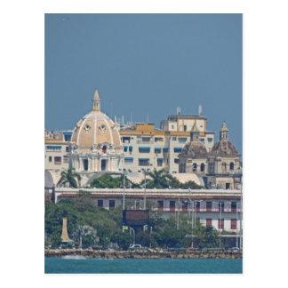 Colombia-Cartagena Waterfront Postcard
