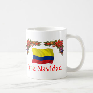 Colombia Christmas Coffee Mug
