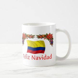 Colombia Christmas Coffee Mug