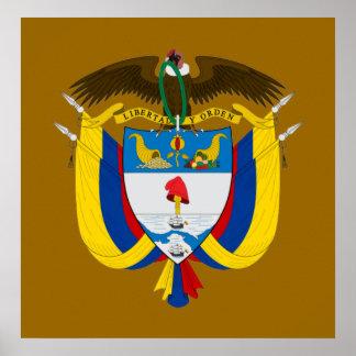 Colombia COA Print