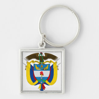 Colombia Coat of arms CO Keychain