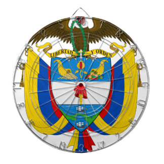 Colombia Coat of Arms Dart Boards