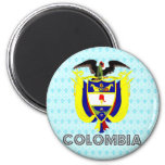 Colombia Coat of Arms Fridge Magnet
