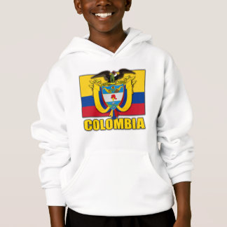 Colombia Coat of Arms Hoodie