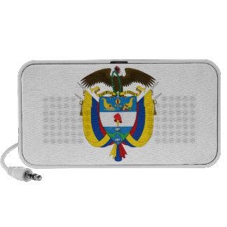 Colombia Coat Of Arms Mini Speaker
