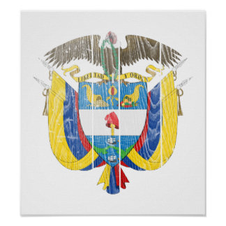 Colombia Coat Of Arms Posters