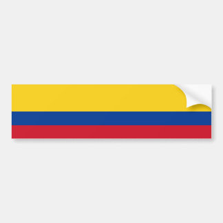Colombia/Colombian Flag Bumper Sticker