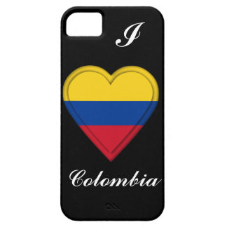 Colombia Colombian Flag iPhone SE/5/5s Case