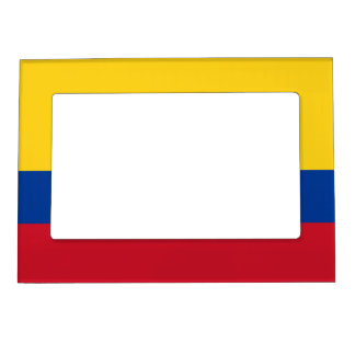 Colombia – Colombian Flag Magnetic Photo Frame