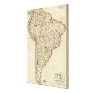 Colombia compuesta Prima, S América Impresión En Lienzo