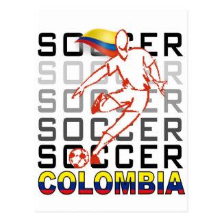 Colombia Copa America Postcard