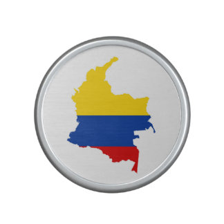colombia country flag map speaker