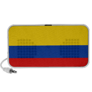 colombia country flag speaker doodle