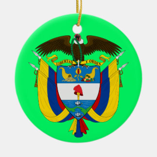 COLOMBIA* Custom Christmas Ornament