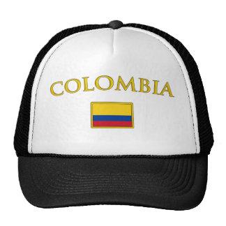 Colombia de oro gorros bordados