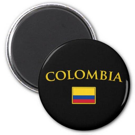 Colombia de oro iman para frigorífico