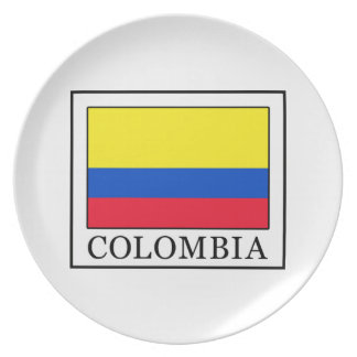 Colombia Dinner Plate