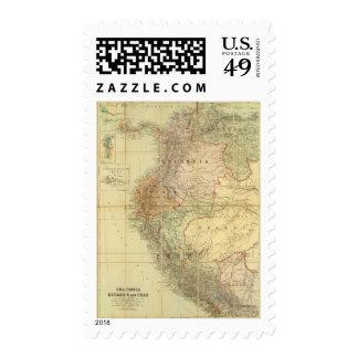 Colombia, Ecuador, Peru, Panama 3 Stamp