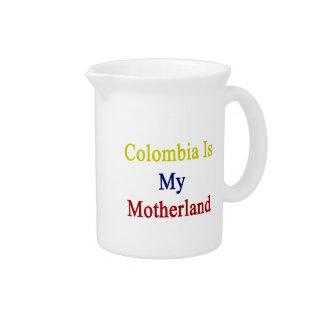 Colombia es mi patria jarron